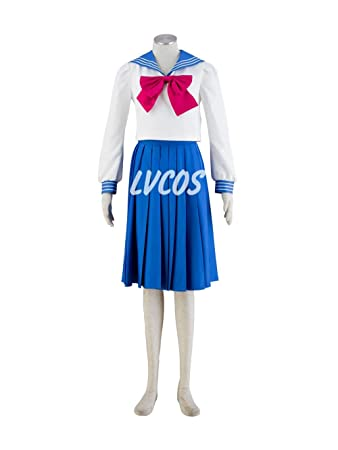 Amazon.com: Anime Cosplay Costume Sailor Moon: Sailor Suit ...