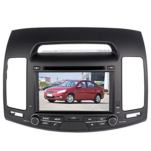 7 Inch Touch Screen Car GPS Navigation for HYUNDAI ELANTRA 2