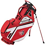 Wilson Staff EXO Carry Golf Bag, Red