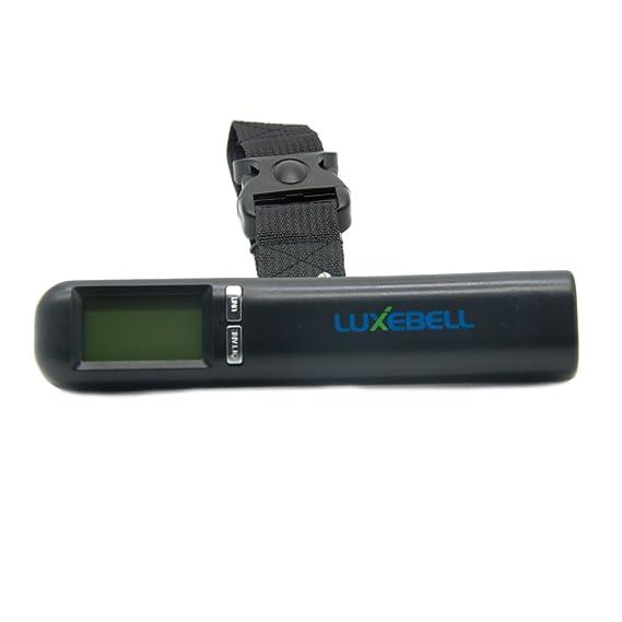 Luxebell® Báscula de mano de equipaje 40Kg/10g electrónica digital: Amazon.es: Electrónica