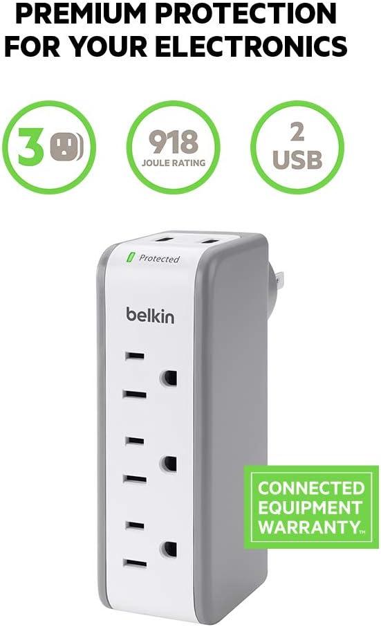 BELKINS销量最佳的带USB借口的多功能插座
