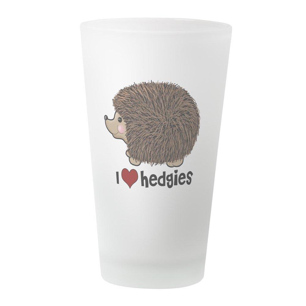 Drinking Glass 16 oz CafePress Hearthedgies Pint Glass