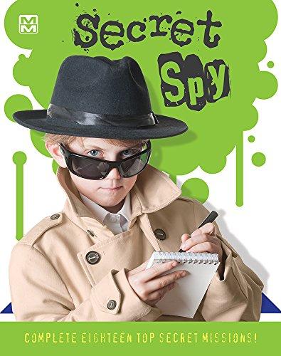 Secret Spy: 18 Top Secret Missions to Complete! (Mini Maestro)