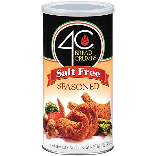 - 4C Salt Free Seasoned Bread Crumbs 12 oz. (Pack of 3)