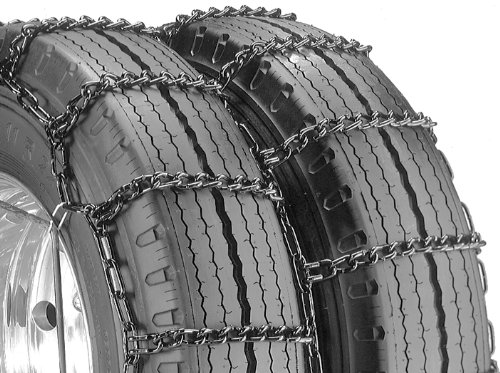 Pack of 1 Security Chain Company QG4249 Quik Grip Type DT Light Truck Dual and Triple Tire Traction Chain