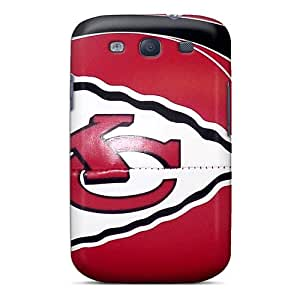 Galaxy S3 ENL10355vuPf Support Personal Customs HD Kansas City Chiefs Image High Quality Hard Phone Covers -DustinFrench