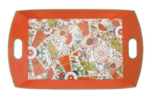 Entertaining with Caspari Paper Serving Trays, Imari Williamsburg - Imari Large Platter