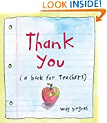 #10: Thank You: (a book for teachers)