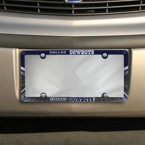 NFL Dallas Cowboys LIC Plate Frame Full (Lic Plate)