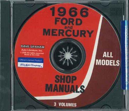 - 1966 FORD UNABRIDGED FACTORY REPAIR SHOP & SERVICE MANUAL - COVERS Ford Custom (& 500), Galaxie 500 & 500 XL, LTD, 7.0 litre, Falcon, Futura, Fairlane, Mustang, Ranchero, and Station Wagons.