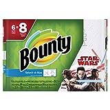 Bounty Select-A-Size Paper Towels, Star Wars Print, 6 Big Rolls = 8 Regular Rolls