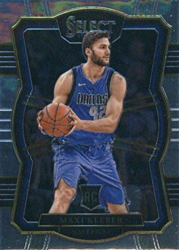 2017-18 Panini Select #137 Maxi Kleber Dallas Mavericks Rookie Basketball Card