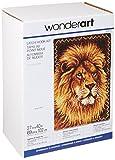 WonderArt Lion Latch Hook Kit, 27'' X 40''
