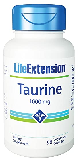 Life Extension Taurine 1000 Mg Capsules, 50 Count: Amazon.es: Salud y cuidado personal