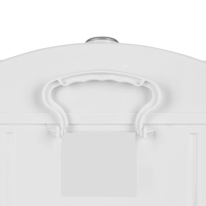Secadora de Camping Transportable Centrifugadora Oneconcept Wirlbelwind Carga Superior Silencioso Capacidad de Carga: 8 kg Delicado RPM: 1.350 Secado r/ápido Blanco 250 W