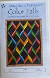 Pattern~Color Falls~2 1/2'' Strips Design by Cozy Quilt Design~Jelly Roll,