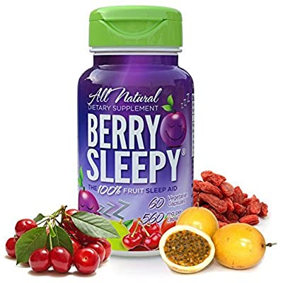 Berry Sleepy Sleep Aid 60 count - Pack of 2