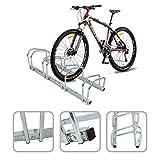 Rastrelliera per 4 biciclette - agganciamento bicicletta al suolo...