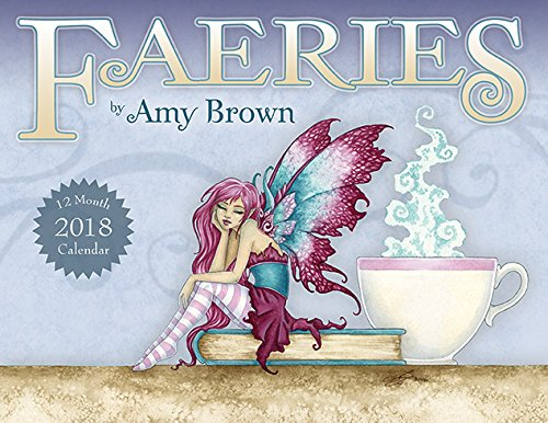 AmyブラウンFaeries 12 Month Wall Calendar 2018 B0731LC7NG