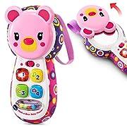 VTech Peek-a-Bear Baby Phone - Pink