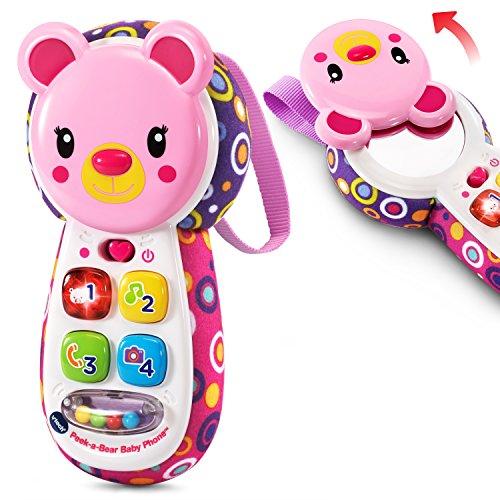 VTech Baby Peek-a-Bear Baby Phone, Pink