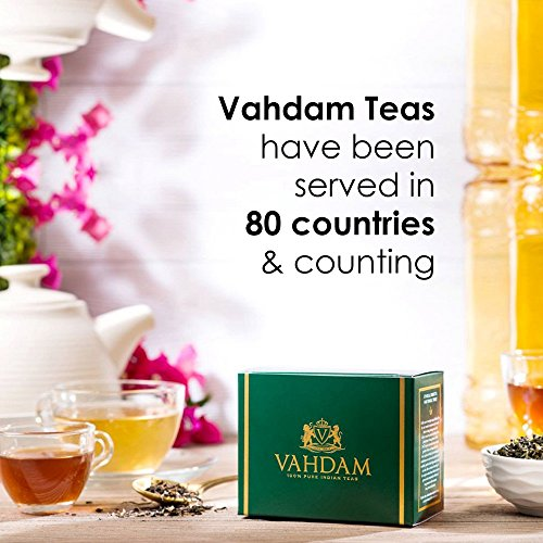 India's Original Masala Chai Tea Bags, 30 TEA BAGS, 100% NATURAL SPICES & NO ADDED FLAVOURING - Blended & Packed in India - Black Tea, Cardamom, Cinnamon, Black Pepper & Clove by VAHDAM (Image #7)
