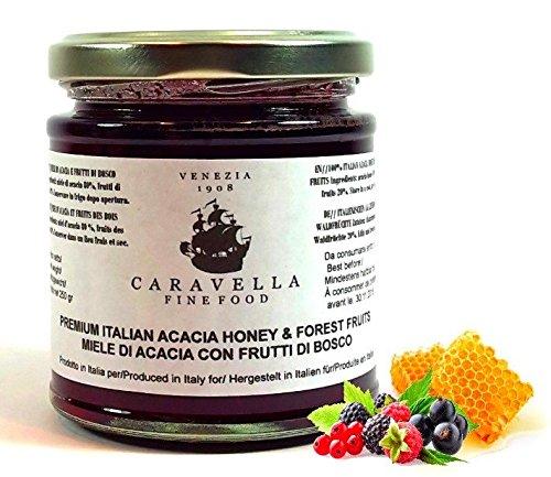 Caravella Premium Miel de Acacia de primera calidad con ...