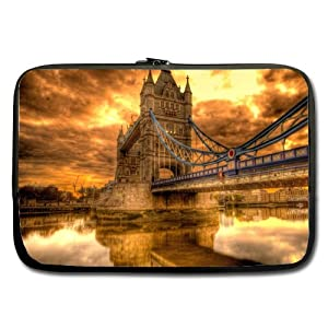 Fashionable Style Bridge Of London England Macbook, Macbook Air/Pro 17