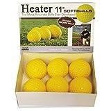 Heater Sports 11 Inch Pitching Machine Softballs by the Dozen