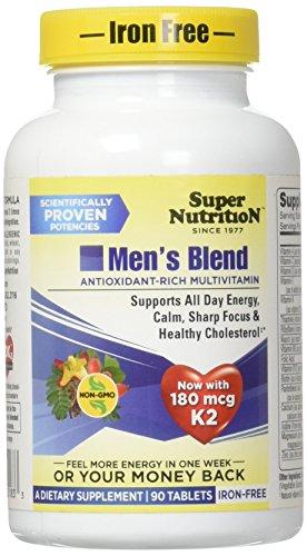 SuperNutrition Men's Blend Iron-Free, 90 Count