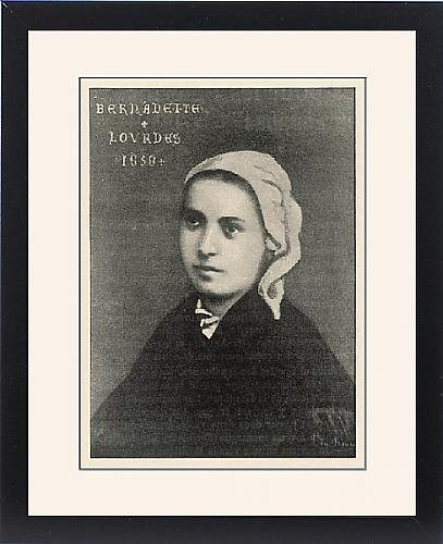 Framed Print Of Bernadette/1858 by Prints Prints Prints