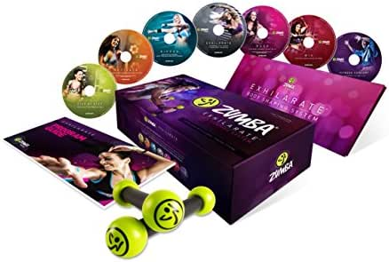 Zumba Fitness Exhilarate Body Shaping System DVD (Multi, Small)