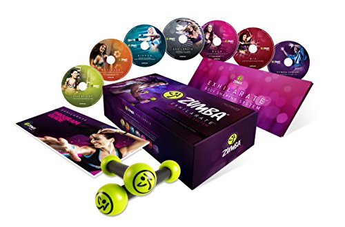 Zumba Exhilarate Body Shaping System DVD - Step Up Movies Box Set