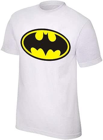 Batman White Cotton Tshirt For Unisex