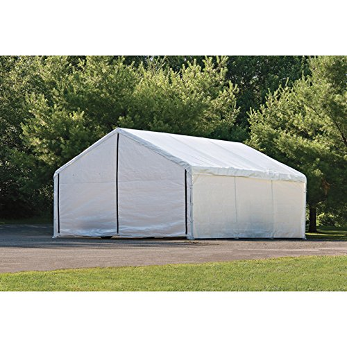 30' Enclosure Kit (ShelterLogic Ultra Max Canopy Enclosure Kit - Fits Item# 252308, 50ft. x 30ft.W Canopy, Model# 27777)