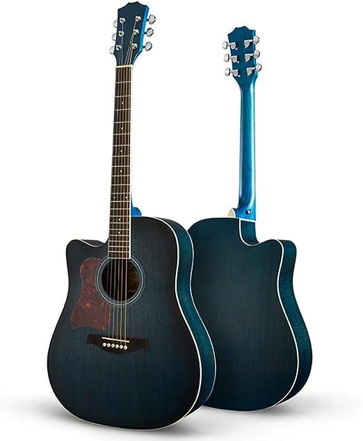 BAIYING-Guitarra Acústica Guitarra Clasica, Principiante Perilla ...