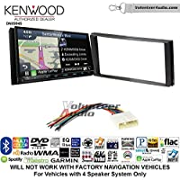 Volunteer Audio Kenwood Excelon DNX994S Double Din Radio Install Kit with GPS Navigation Apple CarPlay Android Auto Fits 2014-2015 Subaru Forester, 2012-2014 Subaru Impreza