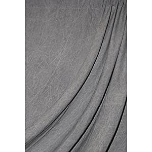 Savage Accent Washed Reversible Muslin Background 10x24 ft - Dark Gray WD5524