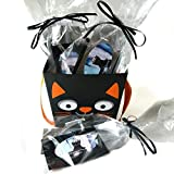 Halloween treats, charcoal face mask, pumpkin spice sugar scrub, Halloween treat bags, face mask, treatments and masks, facial care, beauty treats