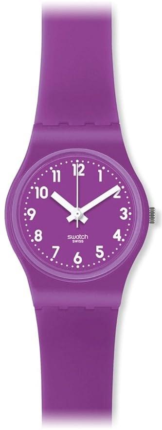 Swatch Damen Armbanduhr Xs Quarz Analog Plastik Lv115 XiZuPk