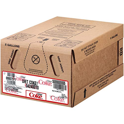 Diet Coke Bag-In Box Fountain Syrup 5 gal. (pack of 4) A1 by Store-383 (Image #2)