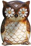 Joseph Studio 65902 Tall Whimsical Owl Garden Statue, 8.75-Inch