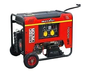 Mecafer MF4500E - 450145 Generador de 4 tiempos con arranque eléctrico 3800 W