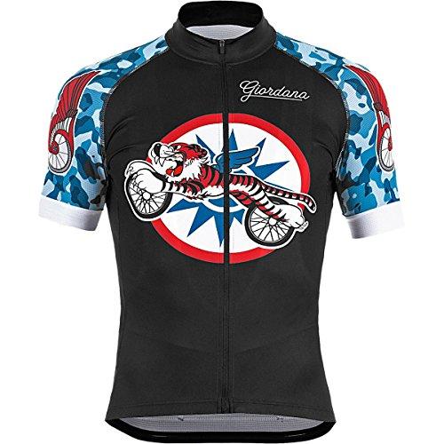 Giordana Endurance Conspiracy Giordana Bike Club Scatto Jersey -  Short-Sleeve - Men s Black Red Blue Camo f76803874
