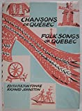 img - for Folk Songs of Quebec book / textbook / text book