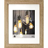 Kiera Grace Loft Picture Frame, 11 by 14-Inch Matted For 8 by 10-Inch, Driftwood Grey