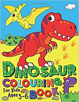Dinosaur Colouring Book For Kids Ages 3 6 Uk Edition Silly Bear Colouring Books Amazon Co Uk Bear Silly Books