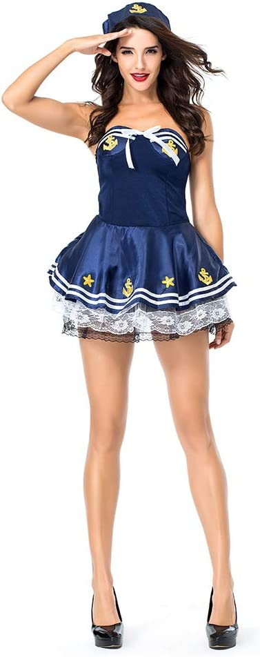 YaXuan Hello Sailor - Disfraces de Halloween para Adultos, Traje ...