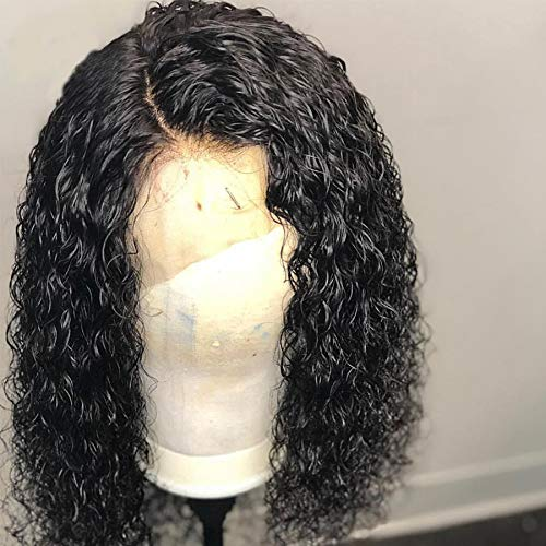 Short Curly Wig Human Hair Brazilian Lace Front Human Hair Wigs With Baby Hair Pre Plucked Bleached Knots (10inch) for $<!--$78.00-->