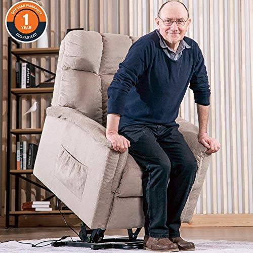 Lift Chairs for Elderly – Lift Chairs Recliners Lift Chairs Electric Recliner Chairs with Remote Control Soft Fabric Lounge
